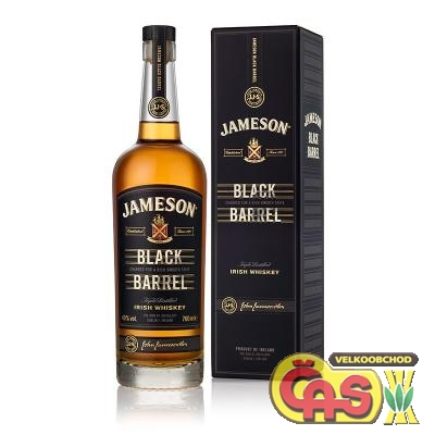 WHISKY - JAMESON 0.7l BLACK BARELL 40%