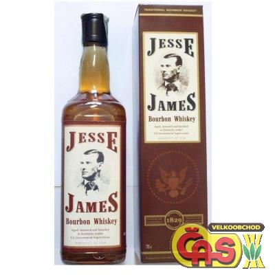 WHISKY - JESSE JAMES 0.7l KART.40%