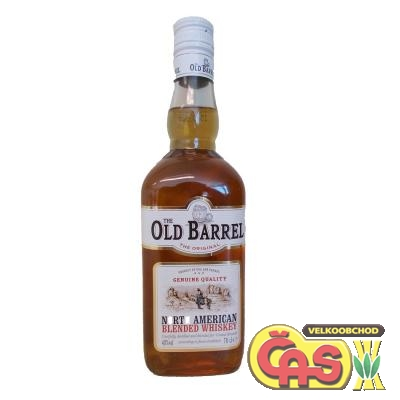 WHISKY - OLD BARREL 0.7l    40%