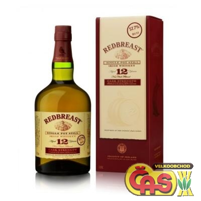 WHISKY - RED BREAST 12Y 0.7l 40%