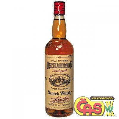 WHISKY - RICHARDSON 0.7l   40%