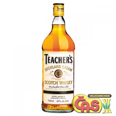 WHISKY - TEACHER`S 0.7l    40%