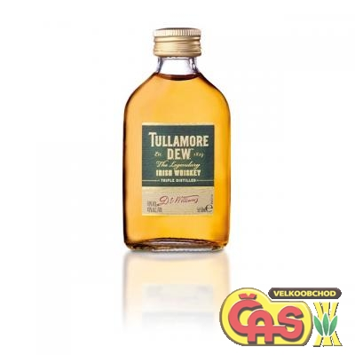 WHISKY - TULLAMORE DEW mini 0.05l 40%