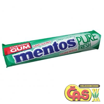 �V�KA�KY MENTOS PURE FRESH 15,5g Spearmint
