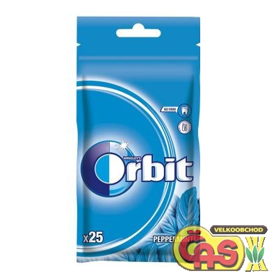 Žvýkaèky orbit peppermint 35g sáèek